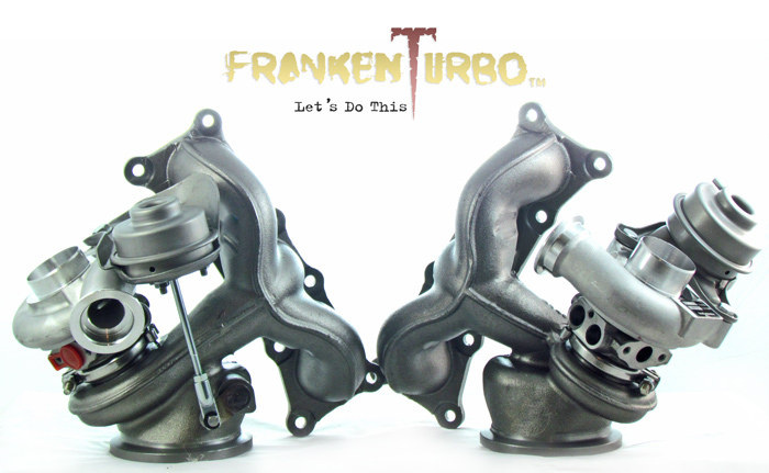 frankenturbo f21bi hybrid turbochargers for bmw n54 engine. Black Bedroom Furniture Sets. Home Design Ideas